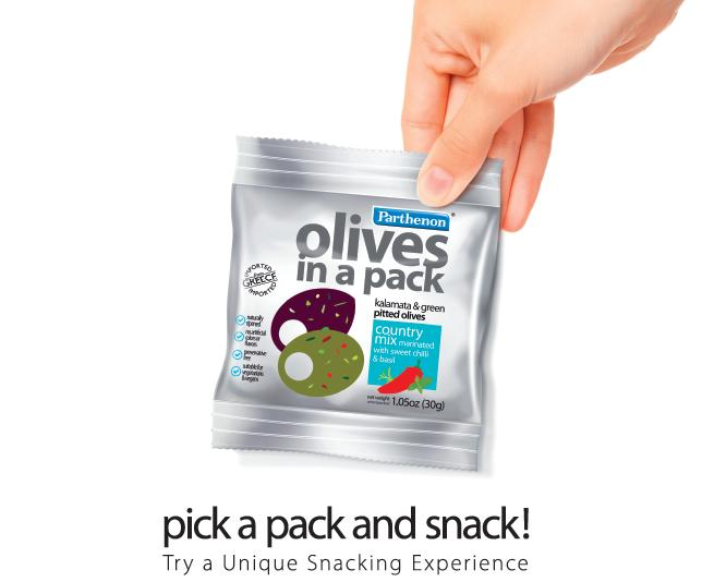 OLIVES IN A PACK (SINGLE)