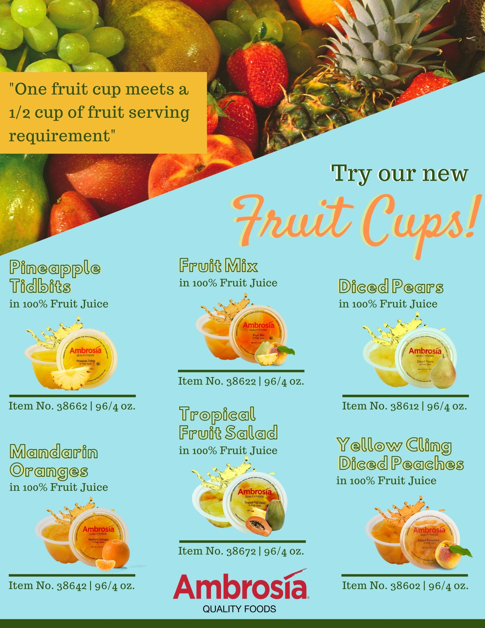 Fruit Cups Category